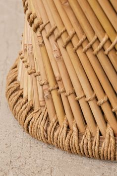 Miriam Woven Stool | Urban Outfitters