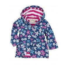 Hatley Girls Summer Garden Raincoat at Wellies and Worms