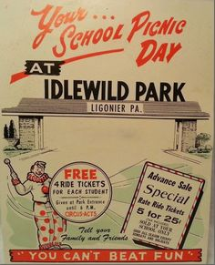 Vintage Johnstown: School Picnic Day