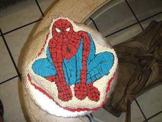 Pastel del hombre-araña...