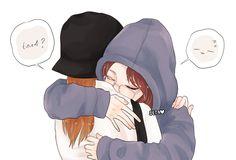 JENLISA a collection of oneshots // ©️Stories are not mi… Fanfiction Kpop Drawings, Anime Couples Drawings, Instagram Cartoon, Korean Best Friends, Twice Fanart, Best Friend Drawings, Anime Friendship, Yuri Anime, Kpop Fanart