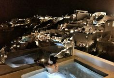 Welcome to Alta Mare by Andronis, one of the best luxury Oia Santorini hotels perched on the edge of the Caldera's dramatic cliff that disarms your senses. Hotels In Oia Santorini, In The Heart, Villa, Luxury, Unique, Dreams, Villas