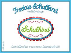 Freebie Button Schulkind