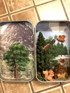 Matchbox Crafts, Tin Can Crafts, Tin Cans, Tins, Stuff To Do, Boxes, Miniatures, Crafty, Canning