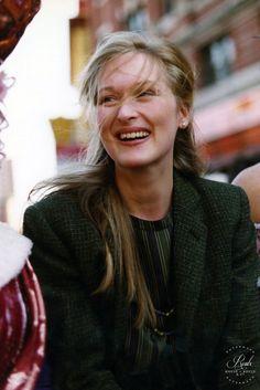 Meryl Streep by Peter Warrack
