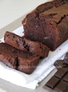 cake chocolat rhum banane recette pure gourmandise puregourmandise