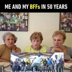 "566.3k Likes, 59.6k Comments - 9GAG: Go Fun The World (@9gag) on Instagram: ""Tag you BFFs! 👭 Follow @9gag - - 📷3GoldenSistersTV   YT - - #9gag #friendship #naenae #squadgoals"""