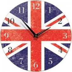 Union Jack Clocks - Great Union Jack Decor