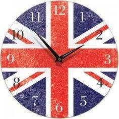 Union Jack Clocks - Great Union Jack Decor