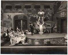 A scene from André Charlot's revue Kill That Fly! - 1912, Royal Alhambra Theatre, London © Victoria and Albert Museum, London