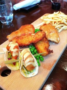 fish & chips with slaw