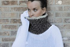 Crochet Cowl Pattern - The Jamie by Rescued Paw Designs