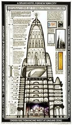 Tower proposal by gaudi for new york city in 1908 more for Fritz hilgers design hotel eiffel
