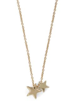 Twinkle Twinkle Little Starlet Necklace,  to portray the night sky in the scene #ModCloth #skau