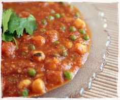 green shakes and giggles: Sweet Potato and Chickpea Masala with Basmati Rice