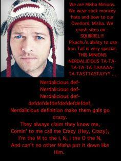 Nerdalicious (;  Misha Minion :D