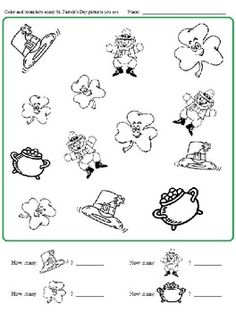 mystery media luck o the irish worksheet