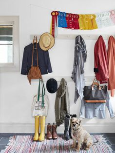 how to go back-to-school WITHOUT a mudroom! on domino.com