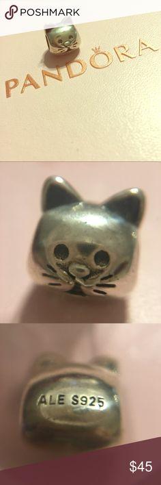 Pandora Curious Cat bead Authentic Pandora Curious Cat bead. NWOT. Pandora Jewelry Bracelets