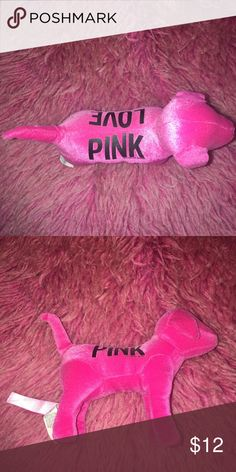 *PINK* dog A brightly colored PINK dog!!! PINK Victoria's Secret Other