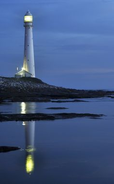 *Reflection of a Lighthouse