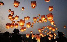 Wedding Wishing Lanterns