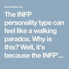 The INFP personality