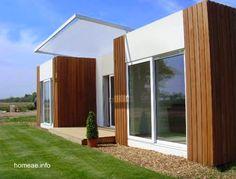Arquitectura de Casas: Casas modernas prefabricadas y modulares.