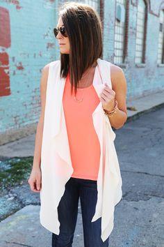 City Love Vest {Cream}