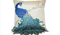 new super luxury perfection solid peacock applique embroidery sequin Cushion Cover sofa wholesale freeshipping Applique Cushions, Applique Quilts, Embroidery Applique, Sequin Pillow, Cushion Covers, Pillow Covers, Cushion Pillow, Peacock Pillow, Scrappy Quilts