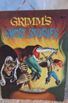 Vintage 1976 A Big Little Book GRIMM'S GHOST STORIES Whitman #5778 Excellent