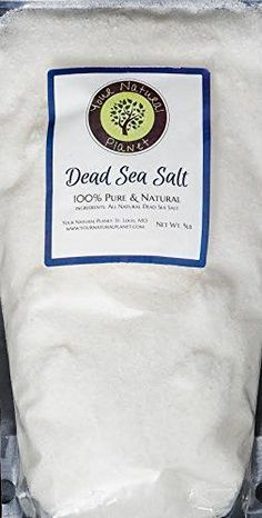 Your Natural Planet Dead Sea Salt-5lb Bag Fine Grain-100% Pure Bath Salt-For Psoriasis, Eczema, Arthritis, Dermatitis, Acne, Dry Skin, Dandruff, and other skin disorders. High Mineral Content For Cleansing and Detoxifying. Relaxes Skin and Muscles.