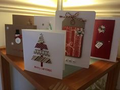 Fantastic cards from Laura's Crafternoon!