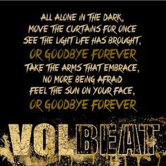Listen to every Volbeat track @ Iomoio Volbeat Tattoo, Music Memes, Music Quotes, Music Is Life, My Music, Metallica, Metal Songs, Alone In The Dark, Musica