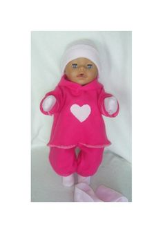 Dukkekl�r til dukke 40-43 cm Onesies, Dresser, Kids, Baby, Clothes, Fashion, Pink, Children, Outfit