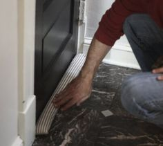 We have done quite a few posts recently about helping you keep warm and save a bit on heating costs this winter, see: DIY Bubble Wrap Window Insulation Cheap DIY Energy-Saving Thermal Curtains These DIY posts have been really popular, so here's another one to help you keep a little warmer… Below is an excellent …