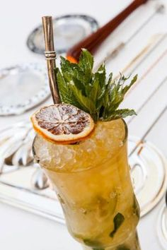 5 New Cocktails for a Holly Jolly Christmas: Smoked Lime & Marmalade Havana Mojito