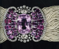 Exceptional #antique #Cartier from an exhibition 2010.  #diamonds & #pearls