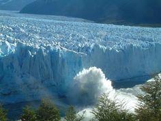 Desprendimiento del Glaciar Perito Moreno... decidite a vivir esta experiencia en vivo!!! El Calafate