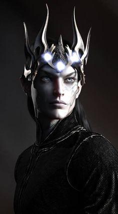 Melkor the Dark Lord. Dark Fantasy Art, Fantasy Artwork, Fantasy World, Fantasy Men, Fantasy Warrior, Character Concept, Character Art, Concept Art, Tolkien