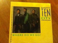 Ten City-Where Do We Go From Here?  LP Single