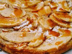 Foto del paso 4 de la receta Torta de manzana sin harina diet y apto celíacos Sin Gluten, French Toast, Bacon, Clean Eating, Food And Drink, Keto, Apple, Cooking, Breakfast