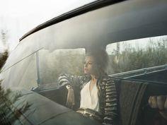Magazine: Elle, March 2012  Editorial: 'The Seeker'  Style: Kate Lanphear  Model: Vlada Roslyakova  Photography: Laurie Bartley