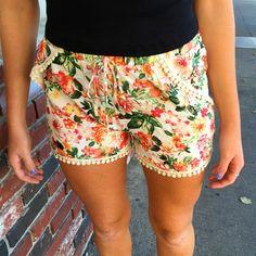fortuityinc - Hawaiian Floral Shorts, $27.00 (http://www.fortuityusa.com/hawaiian-floral-shorts/)