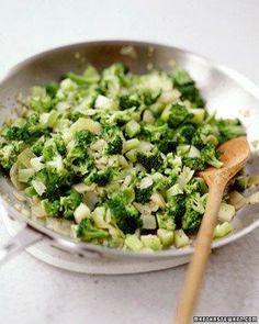 Broccoli Hache side dish recipe