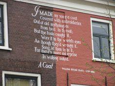 "Leiden: ""Poem on the wall"" by Vera Utkina, via 500px."