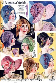 Fashion vintage summer hats for 2019 Robes Vintage, Vintage Dior, Vintage Outfits, Vintage Fashion, Fashion 1920s, Moda Vintage, Edwardian Fashion, Vintage Shorts, Retro Outfits