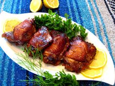 Amazing Sweet Garlic Chicken   Now this is something I MUST try!