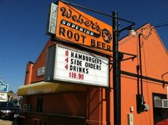 Visit Weber's Root Beer & Burgers in Tulsa for an ice cold mug of some delicious soda that is still made with the recipe it originated from in 1933. Their famous hamburgers are worth trying too; it is said Weber's founder Oscar Weber Bilby grilled the first real patty.