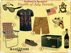 Outfitted & Equipped: 4th of July